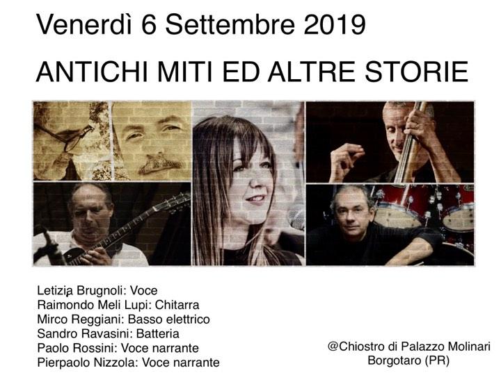 Antichi miti e altre storie Borgotaro PR Palazzo Molinari 2019