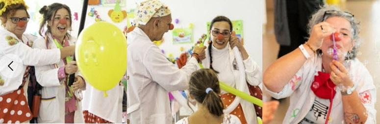 La festa dei Clown all'Ospedale dei Bambini Parma 2019