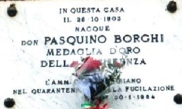 """""""Don Pasquino Borghi Partigiano della Carità"""""""