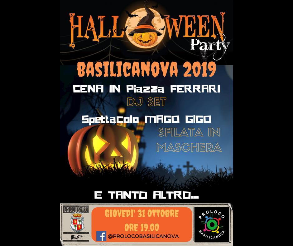 🎃🎃🎃 Halloween NOTTE PIU' SPAVENTOSA DELL'ANNO 2019
