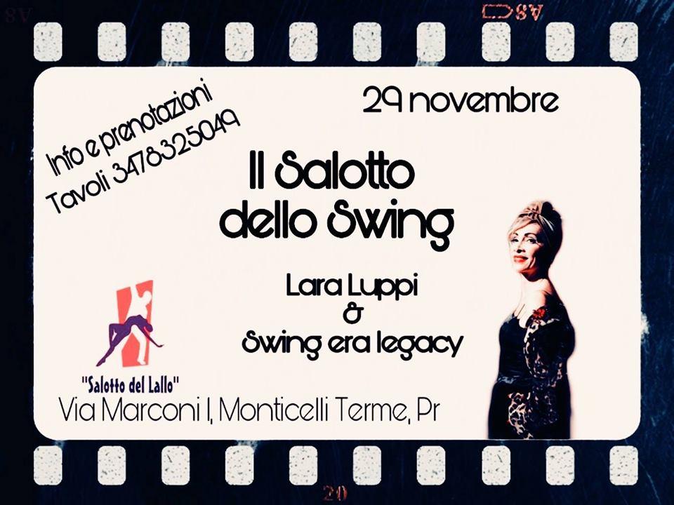 Salotto Swing Lara Luppi, Corrado Caruana, Alessandro Mori