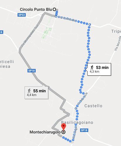 Il cammino dell'acqua Montechiarugolo, Monticelli D'Enza 2019
