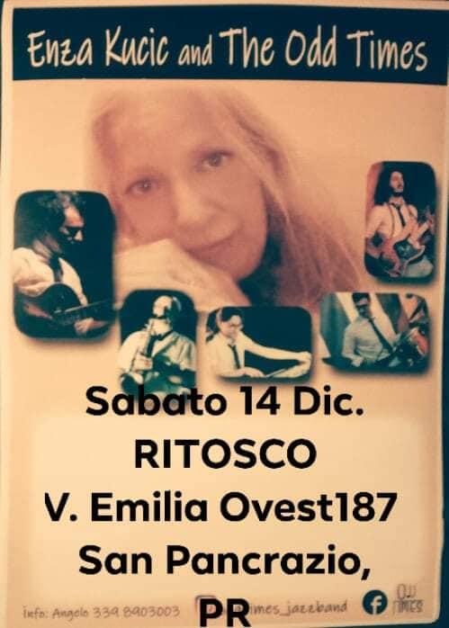 Enza Kucic e Odd Times Jazz Band Nuova band di Parma 2019