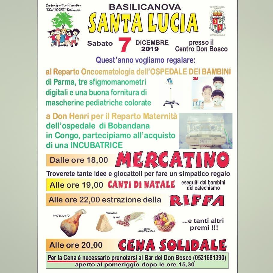 S.Lucia 2019 Associazione PGS Don Bosco Basilicanova