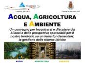 """Convegno """"Acqua, Agricoltura e Ambiente""""Traversetolo 2019"""