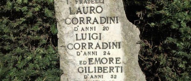 Cippo commemorativo dei Caduti nella Battaglia del Quaresimo.