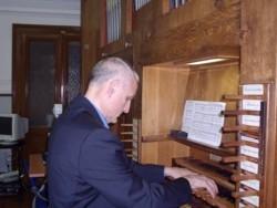 """Montechiarugolo chiesa di San Quintino, Mario Verdicchio """"Organo"""""""