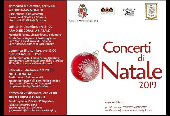 Concerti di Natale 2019 nella Val D'Enza