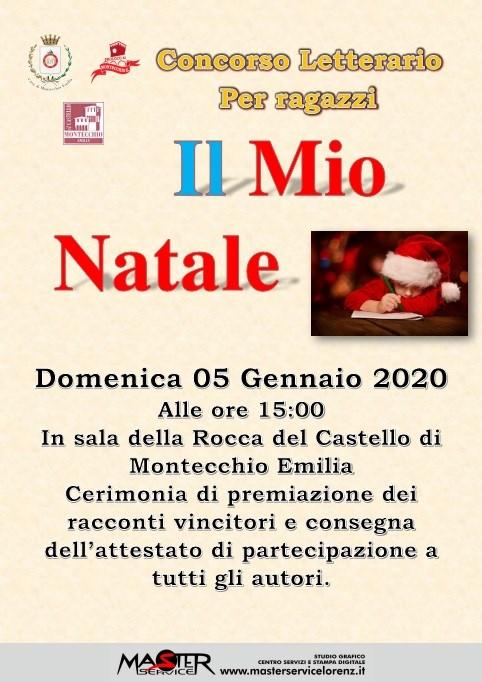 Concorso letterario Il Mio Natale ProLoco Montecchio Emilia 2019