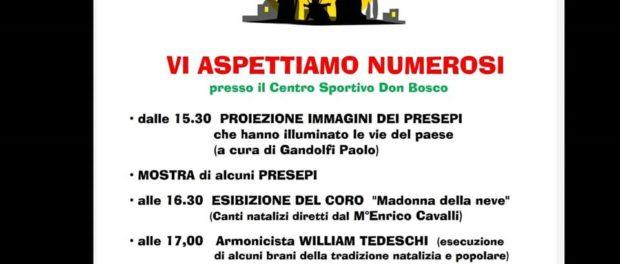 """La Magia del presepe centro sportivo """"Don Bosco""""Basilicanova"""
