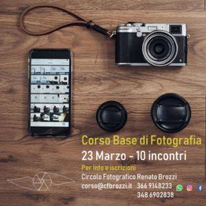 """Corso Fotografico 2020 Circolo Fotografico """"Renato Brozzi"""""""