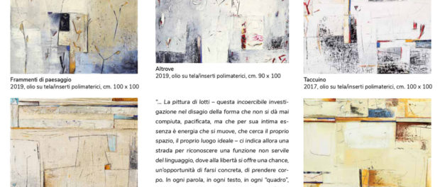 Marino Iotti - Forme in movimento L'Ottagono Spazio Espositivo 2020