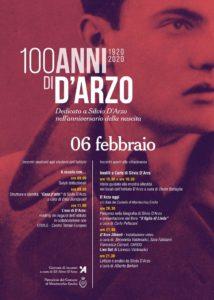 """Istituto d'Arzo""""100 ANNI di D'ARZO""""Montecchio Emilia 2020"""