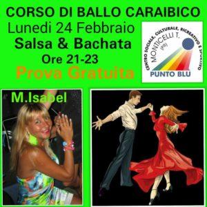 Inizio Corsi Salsa & Bachata Monticelli Terme Punto Blu 2020