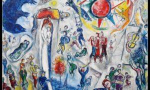 """quadro di Marc Chagall. """" La Vie"""" anno 1964"""