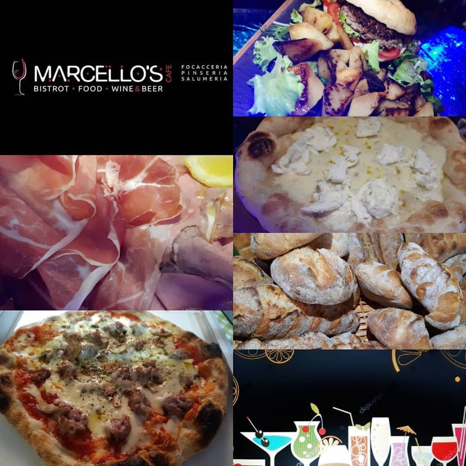 MARCELLO'S CAFE Bistrot food and wine, Noceto Parma estate 2020