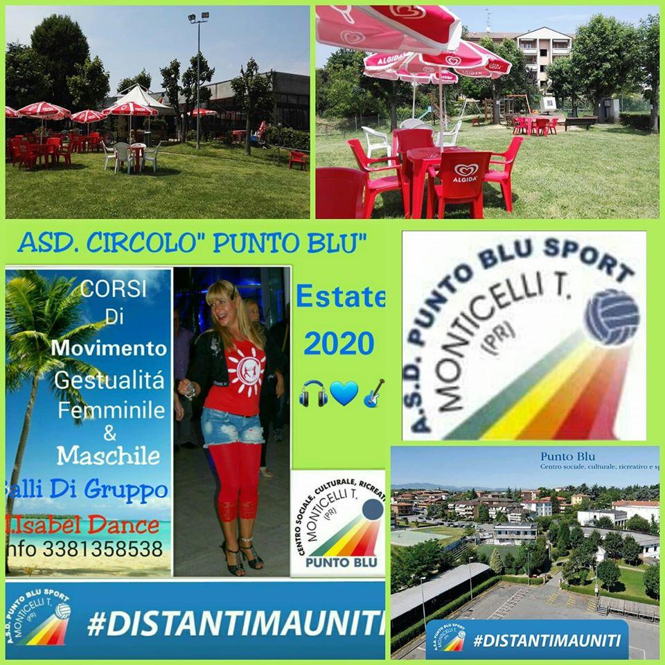 Centro punto Blu, Danze Caraibiche Monticelli Terme Maggio 2020