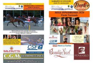 Trofeo del Castello per i Cavalli -Miss Ippodromo 2020
