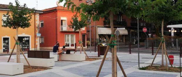 Inaugurazione Piazza Fornia Monticelli Terme 2020