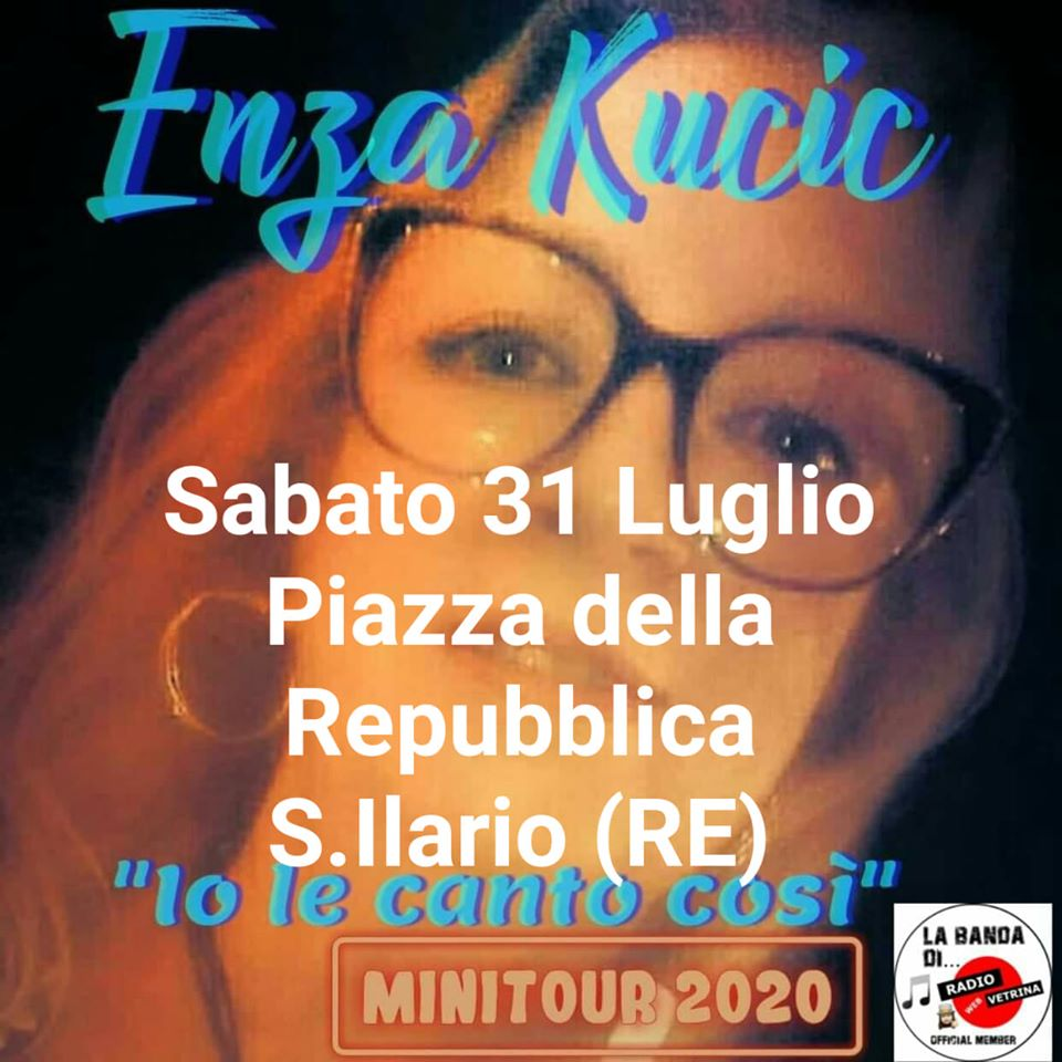 San Ilario Enza Enza Kucic e jazz live band 2020