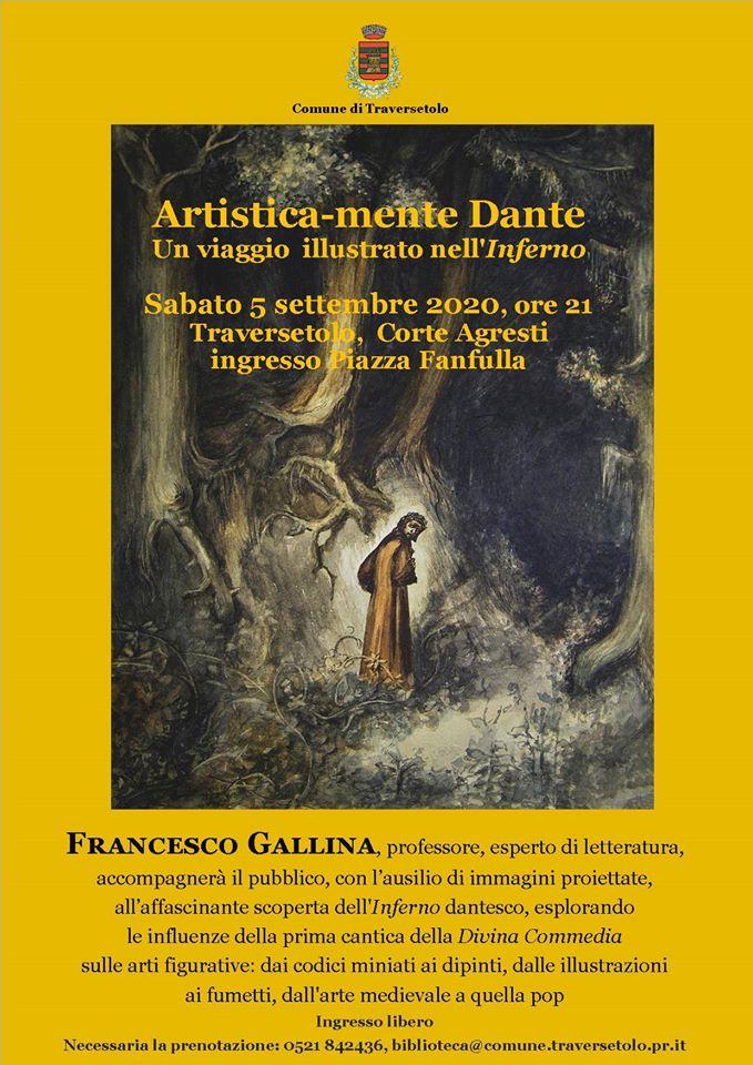 Un viaggio nell'Inferno, Artistica-mente Dante Traversetolo 2020