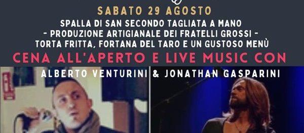Alberto Venturini-Jonathan Gasparini Live music 2020