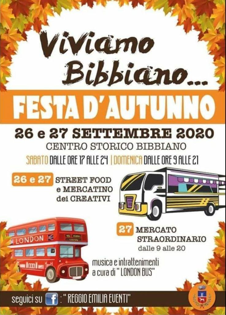 Viviamo Bibbiano festa d'autunno 2020