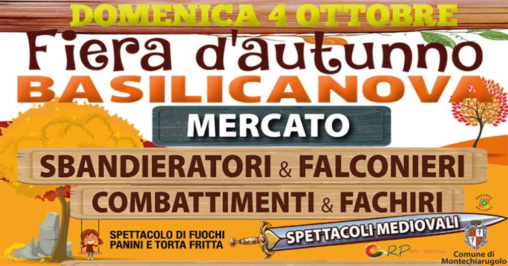 Fiera D'Autunno a Basilicanova (PR) 2020