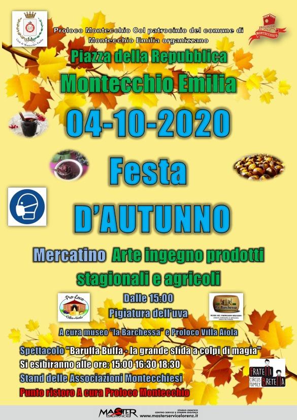 Festa d'autunno a cura della Proloco di Montecchio Emilia