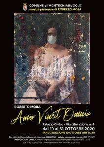 "Mostra personale di Roberto Mora ""Amor Vincit Omnia"""