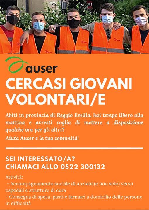 AUSER CERCA VOLONTARI Reggio Emilia 2020