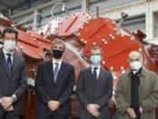 "Ansaldo Energia ha presentato oggi una turbina denominata ""Monte Bianco"""