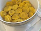 Gli anolini! Da il libro di Aldo Emanuelli: Le osterie parmigiane