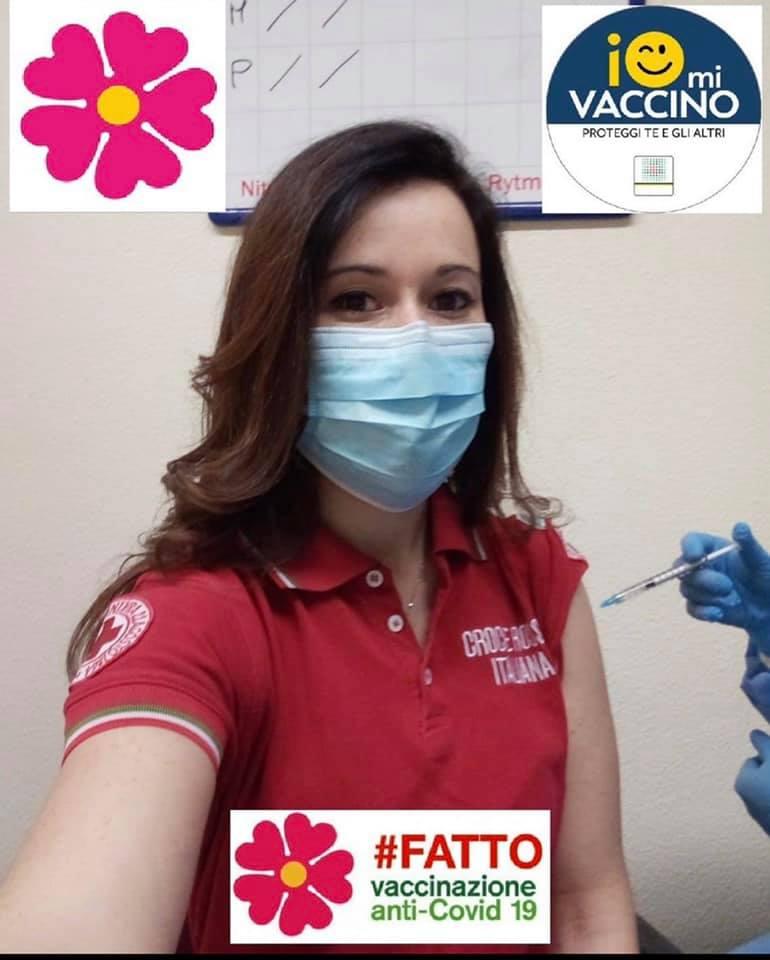 Rosa Giordano parte della quota rosa della Croce Rossa Italiana 2021