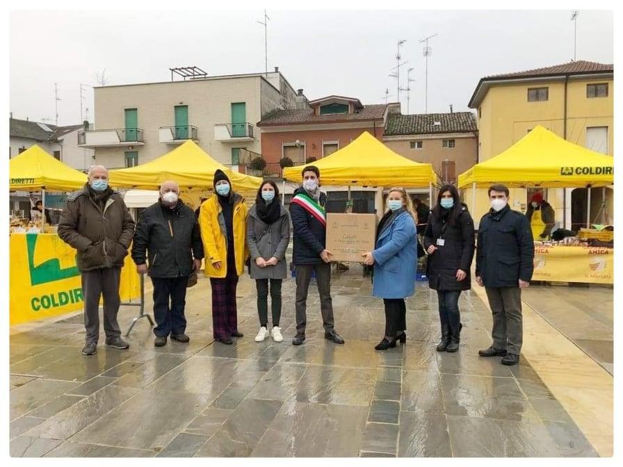 I pacchi solidali di Campagna Amica Parma 2021