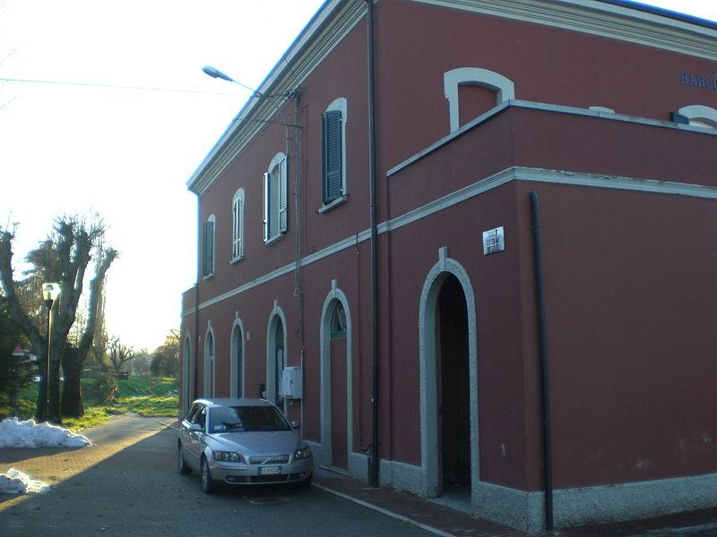 BIBBIANO, linea ferroviaria Reggio Emilia-Ciano d'Enza.