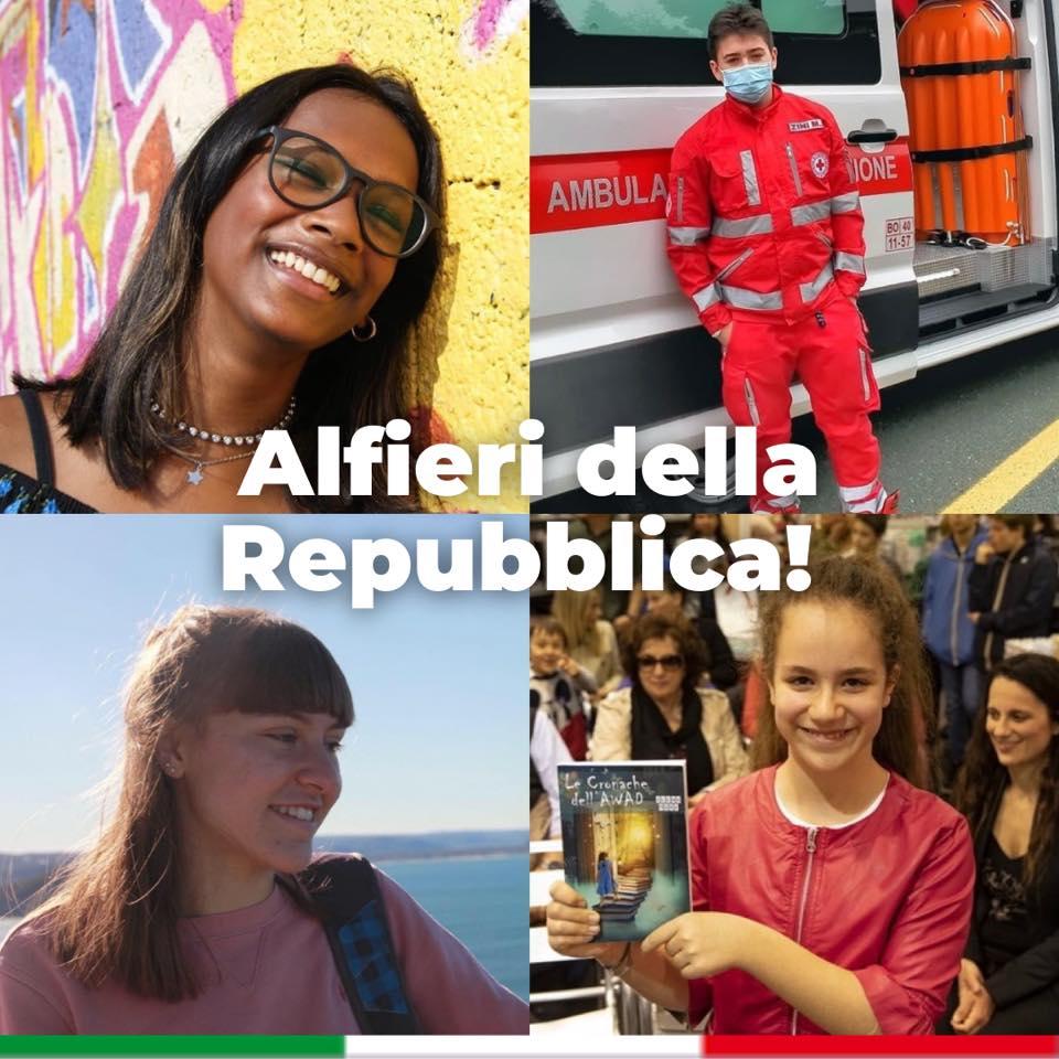 Premiati dal Presidente della Repubblica Sergio Mattarella 2021