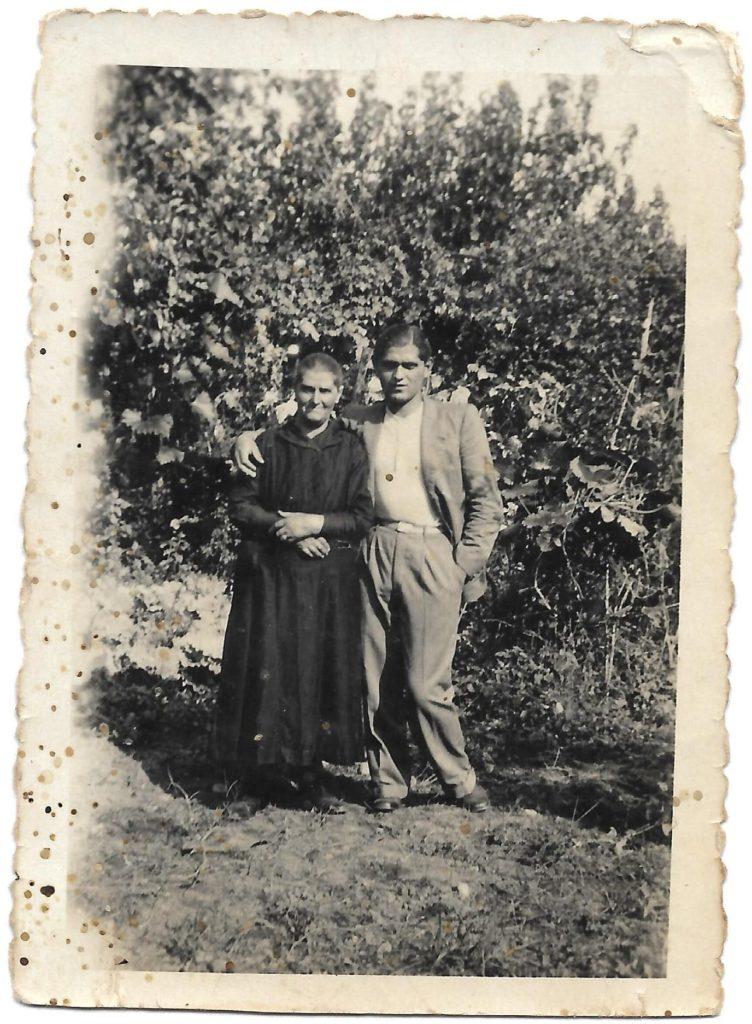 Caterina Fornaciari madre e di Remo Bonazzi figlio