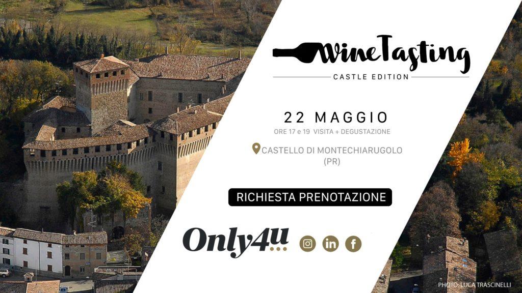 Castello di Montechiarugolo Wine Tasting enogastronomiche 2021
