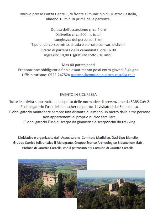 GIORNATE VERDI IN EMILIA ROMAGNA, Quattro Castella 2021