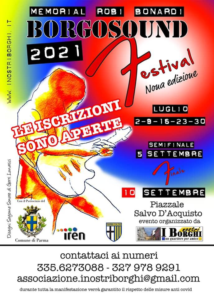 """Associazione I Nostri Borghi presenta """"Borgosound Festival""""2021"""