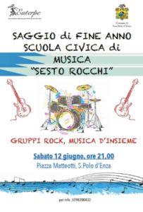 Saggio fine anno Scuola comunale musica Sesto Rocchi 2021