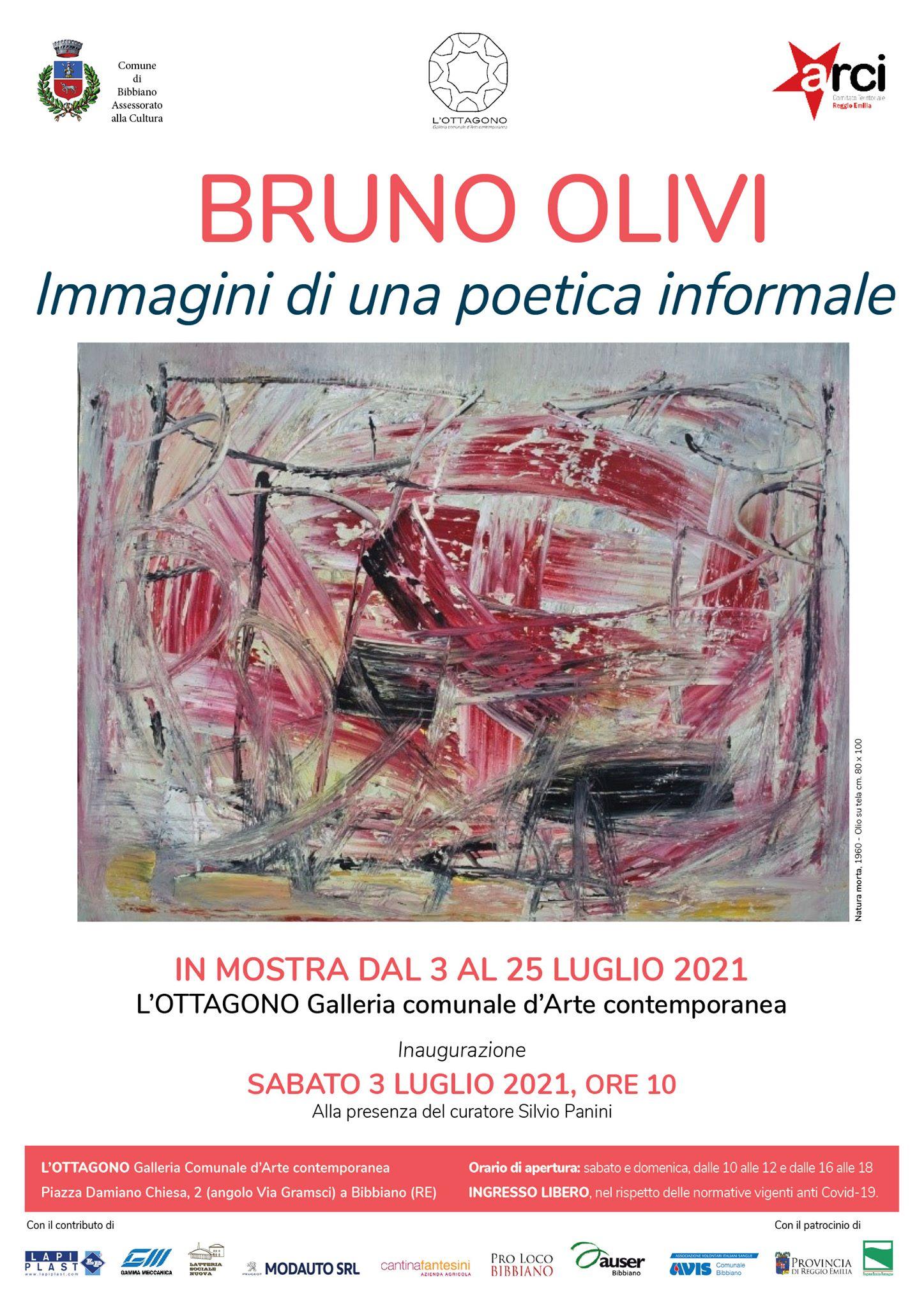 Bruno Olivi L'Ottagono Spazio Espositivo di Bibbiano 2021