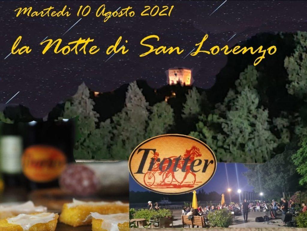 Tigelle sotto le stelle San Lorenzo al risto Trotter 2021