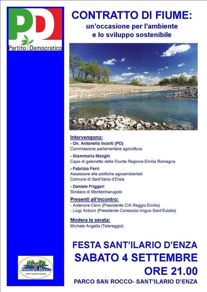 Contratto di fiume ambiente e sviluppo sostenibile 2021