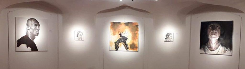 """Cristiìna Davoli """"NEGLI OCCHI."""" opere pittoriche 2021"""