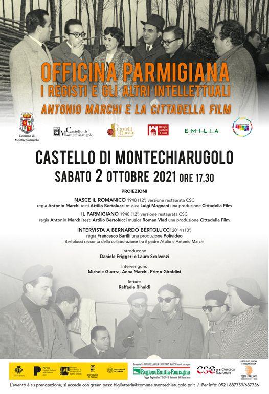 Antonio Marchi al Castello di Montechiarugolo