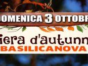 Fiera d'autunno a Basilicanova 2021 organizzata dalla Pro Loco