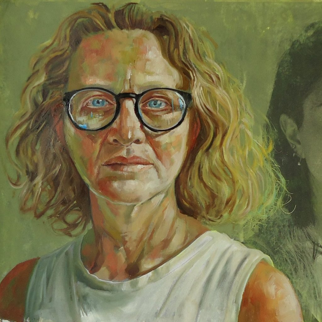 """Cristina Davoli """"NEGLI OCCHI."""" opere pittoriche 2021"""