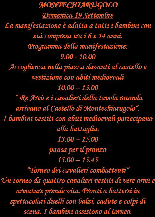 Comune di Montechiarugolo MONT'ART BIMBI Arte nel borgo 2021